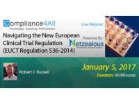 New European Clinical Trial Regulation Web Conference by Compliance4all