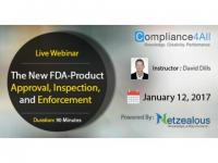 The New FDA-Product Approval Web Conference by Compliance4all