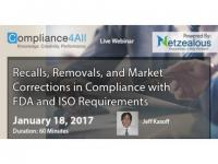 Compliance with FDA and ISO Requirements Web Conference by Compliance4all