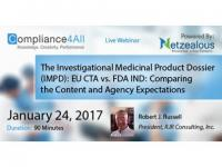 The Investigational Medicinal Product Dossier Web Conference by Compliance4all