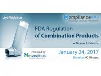 FDA Regulation of Combination Products Web Conference by Compliance4all