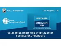 Seminar on Validating Radiation Sterilization for Medical Products
