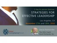 Effective Leadership Strategies 2016