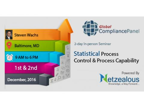 Statistical Process Control & Process Capability – GlobalCompliancePanel 2016