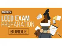 Pack of 4 - LEED Exam Preparation Bundle