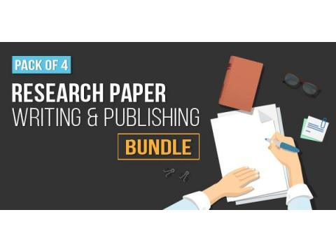 Pack of 4 - Research Paper Writing and Publishing Bundle