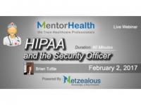 Security Officer and HIPAA 2017