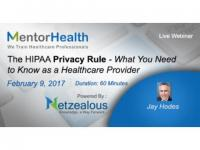 The HIPAA Privacy Rule 2017