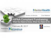 HIPAA Compliant Fundraising 2017