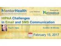 Email & SMS Communication of HIPAA Challenges  2017