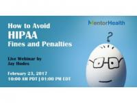 How to Avoid HIPAA Fines and Penalties 2017