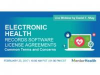 Electronic Health Records Software License Agreements 2017