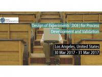 Design of Experiments (DOE) for Process Development and Validation 2017