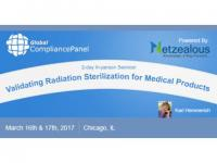 Validating Radiation Sterilization for Medical Products 2017