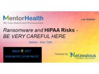 Ransomware and HIPAA Risks 2017