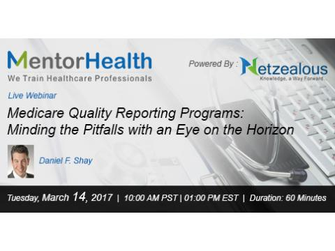 Medicare Quality Reporting Programs 2017