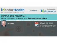 HIPAA and Health IT - What You Need to Know as a Business Associate 2017
