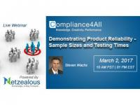 Product Reliability requirements - Sample Sizes and Testing Times