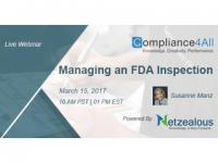 How to Manage an effective FDA Inspection