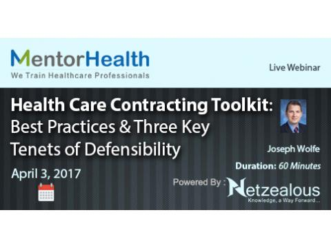 2017 Health Care Contracting Toolkit Best Practices