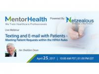 HIPAA Texting and Email with Patients