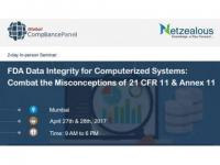2017 FDA Data Integrity for Computerized Systems Seminar by  GlobalCompliancePanel