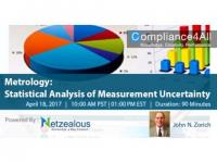 Statistical Analysis of Measurement Uncertainty : Metrology