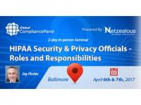 HIPAA Security & Privacy Officials Training 2017
