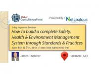Safety, Health & Environment Management System  2017