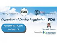 Overview of Device Regulation – FDA 2017