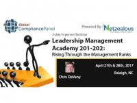 Leadership Management Academy 201-202: Rising Through the Management Ranks  2017