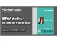 Webinar on HIPAA Audits