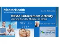Webinar on HIPAA Enforcement Activity