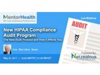 Webinar on New HIPAA Compliance Audit Program