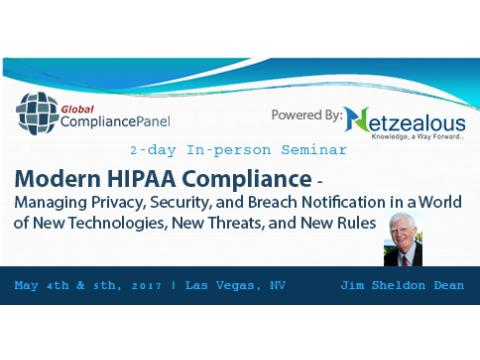 Modern HIPAA Compliance 2017 before 30 April 50% Discount for its All Seminars