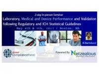 Laboratory, Medical and Device Performance and Validation following Regulatory 2017-50% Discount