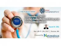 Medical Device Single Audit Program for Compliance Success (MDSAP) 2017 before 30 April 50% Discount