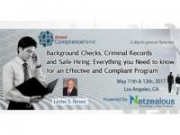 Background Checks, Criminal Records and Safe Hiring 2017 - 50% Discount