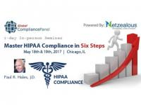 Master HIPAA Compliance in Six Steps 2017 before 30 April 50% Discount for its All Seminars