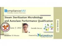 Steam Sterilization Microbiology and Autoclave Performance - 2017