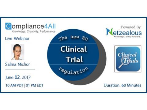 EU Clinical Trial regulation - 2017