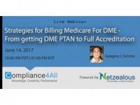 Billing Medicare For DME - How to Get the Proper Licensure - 2017