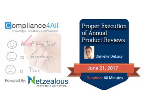 Annual Product Quality Review - 2017