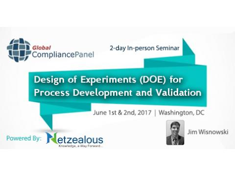 Design of Experiments (DOE) 2017 Before 30 April 50% Discount for its All Seminars