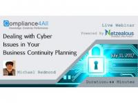 Cyber Issues in Your Business Continuity Planning - 2017