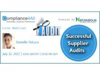 Successful Supplier Audits - 2017