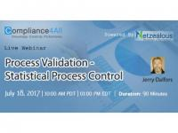 Process Validation - Statistical Process Control - 2017