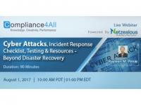 Cyber Attacks, Beyond Disaster Recovery - 2017