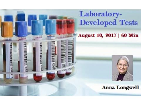 Laboratory-Developed Tests - Medical devices 2017