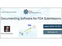 Documenting Software for FDA Submissions 2017